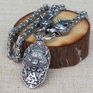 Fenrir & Valknut Necklace