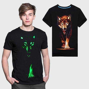 Lone Wolf Glow In The Dark T-Shirt