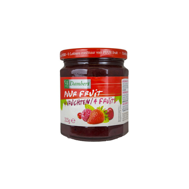 Pure Fruit Jam 4 Fruits