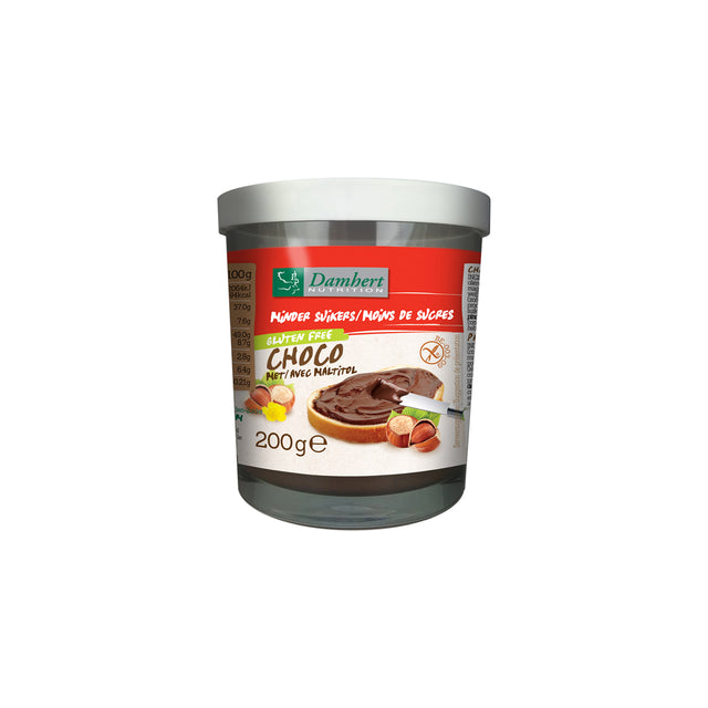 Less Sugar Chocolate Spread