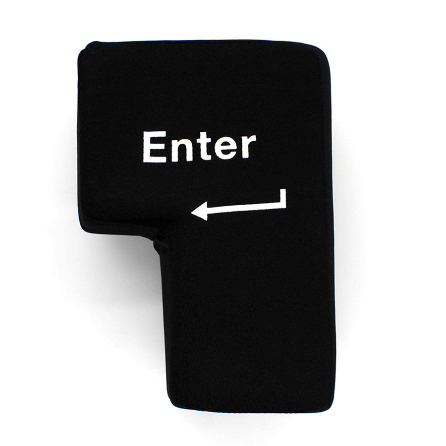 "Creative Hand Pillows USB Big Enter Key ""BUY 1, GET 1 FREE"" USE COUPON: BOGO - That Good Deal"