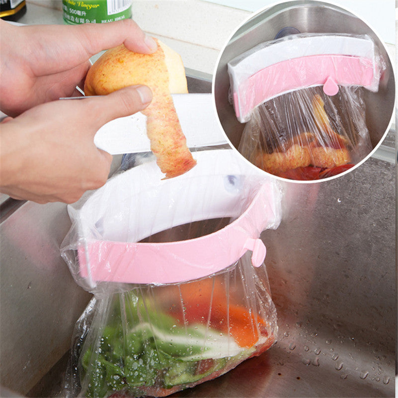 "Kitchen Sink Trash Bag Holder ""BUY 1, GET 1 FREE"" Use coupon: BOGO - That Good Deal"
