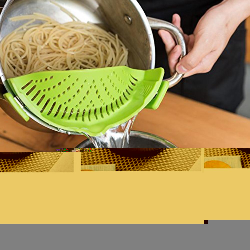 "Universal Snap Strainer ""BUY 1, GET 1 FREE"" USE COUPON: BOGO - That Good Deal"