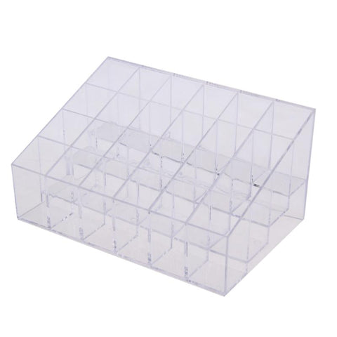 "24 Grid Acrylic Lipstick Organizer ""BUY 1, GET 1 FREE"" Use coupon: BOGO - That Good Deal"