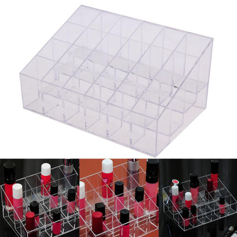 "Image of 24 Grid Acrylic Lipstick Organizer ""BUY 1, GET 1 FREE"" Use coupon: BOGO - That Good Deal"