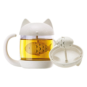 Creative New Tea Strainer Cat Tea Infuser Cup