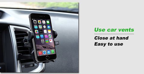 "Automatic Locking Car Phone Holder ""BUY 1, GET 1 FREE"" USE COUPON: BOGO - That Good Deal"