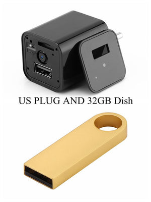 HD 1080P Camera USB Wall Charger