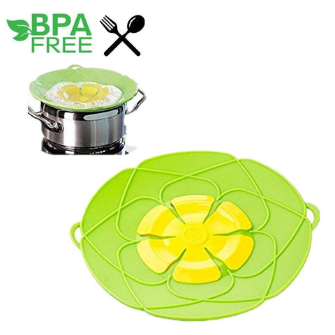 "Bloom Multi-Purpose Lid Cover and Spill Stopper ""BUY 1, GET 1 FREE"" USE COUPON: BOGO - That Good Deal"