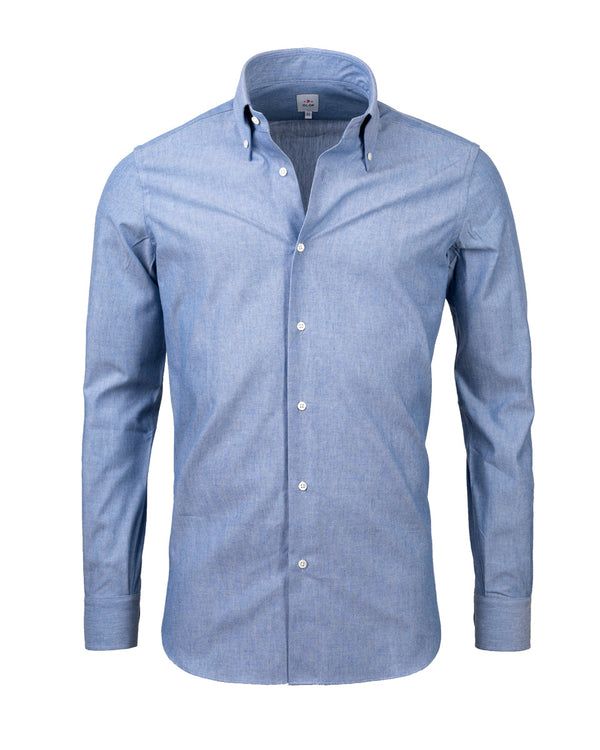 Chambray buttondown shirt