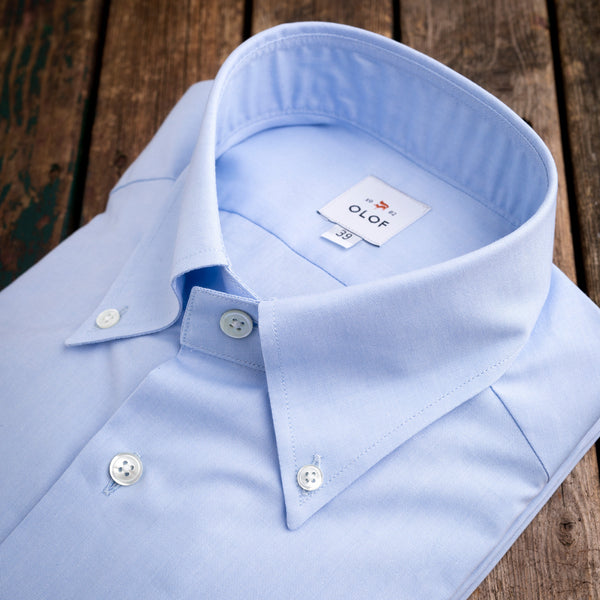 Formal button down light blue shirt