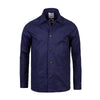 Overshirt in navy British canvas cotton