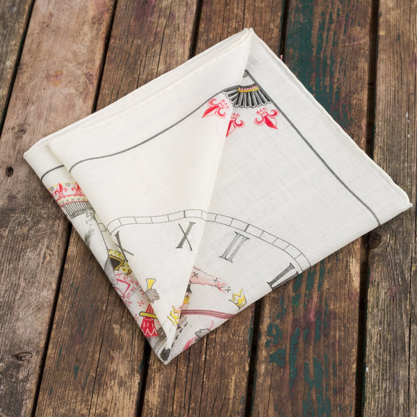The Jack of Hearts pocket square