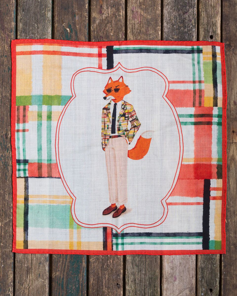 The preppy fox square