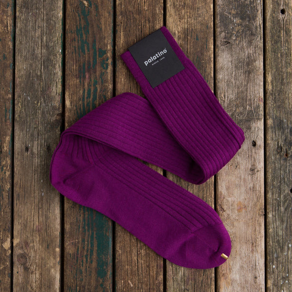 Palatino wool socks lilac
