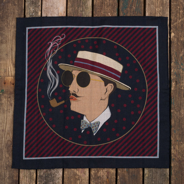 The Dandy pocket square