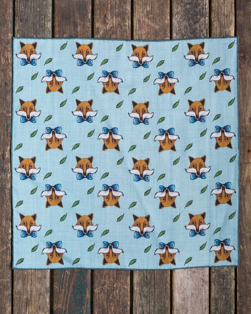 The fox with the bow tie square
