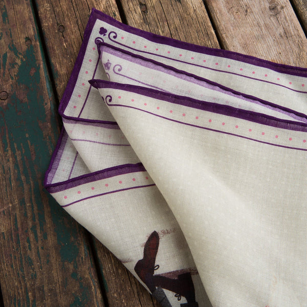 Olof flannel pocket square