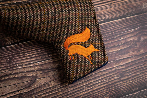 Tweed putter headcover