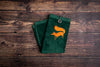 Golf towel green
