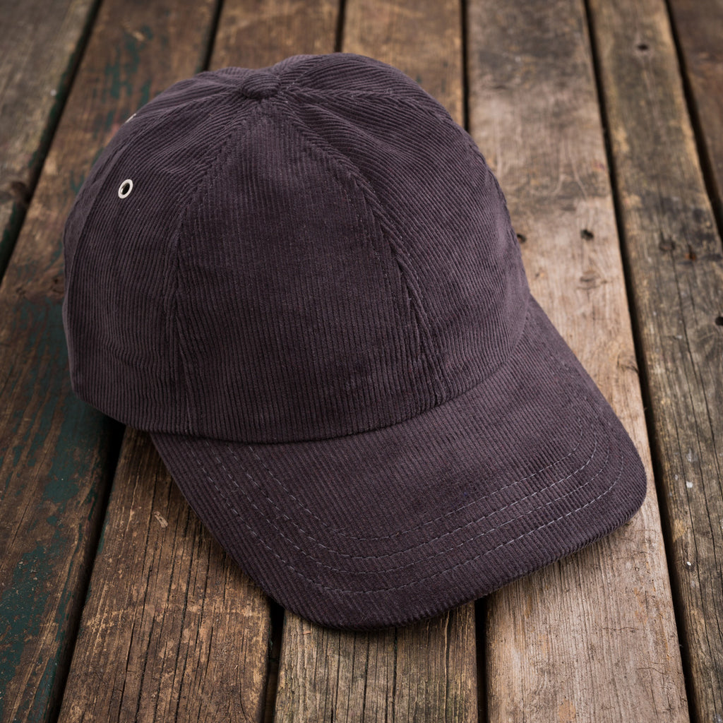 American Trench grey cord ball cap