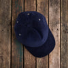 American Trench navy cord ball cap