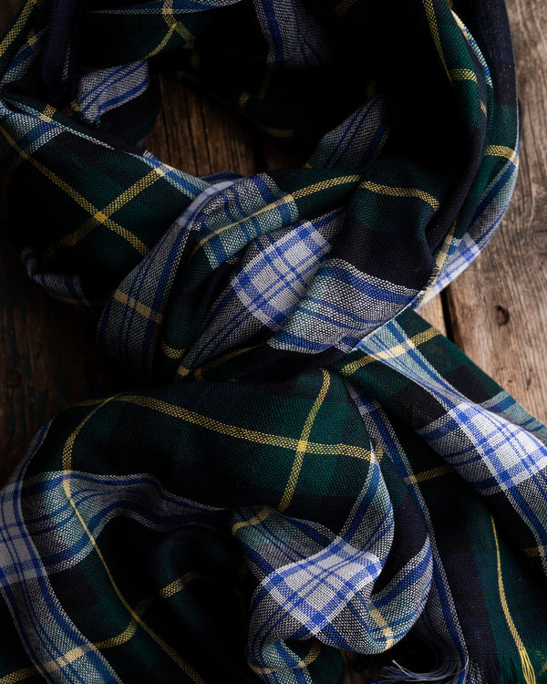 Dress Gordon tartan oversize merino scarf