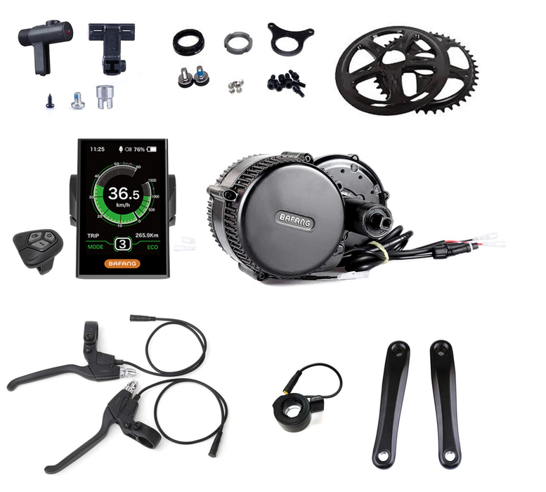 Bafang 36V 250W Conversion Kit 68mm, DPC18 Display