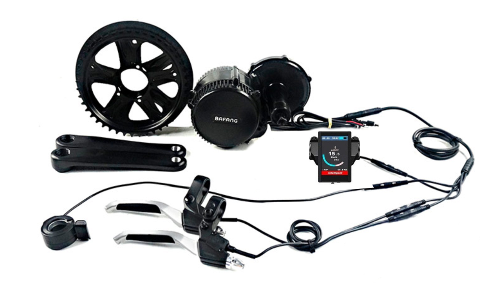 Bafang 48V 750W Kit conversione 100MM & Batteria da 14AH