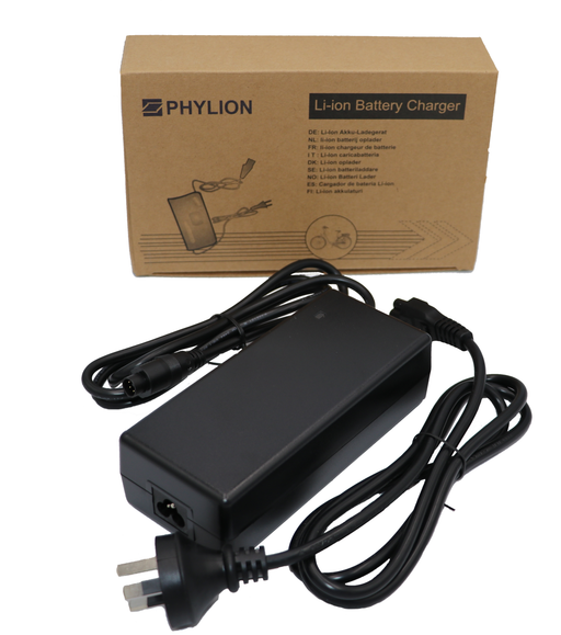 Phylion Charger 36 Volt Vijf Pin Phylion acculader 36 Volt 5 Pin 2A