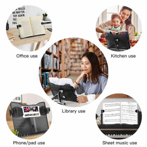 Portable Adjustable Reading Book Stand