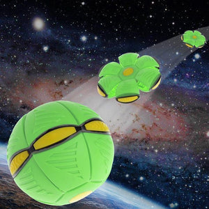 Magic Decompression Multi-Function UFO Ball🔥(Interactive essential) toy ecocong GREEN