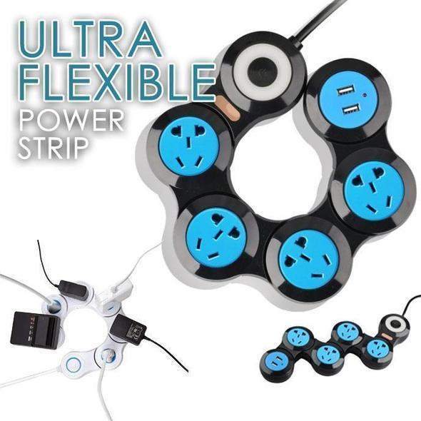 【Hot Sale Now】- 180° ROTATING ULTRA FLEXIBLE POWER STRIP