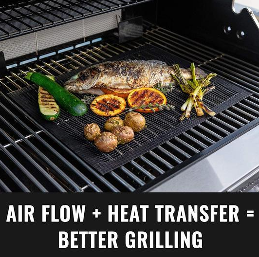 MINTIML GRILL MAT (RECOMMENDED TO BUY 3 PCS OR MORE!)