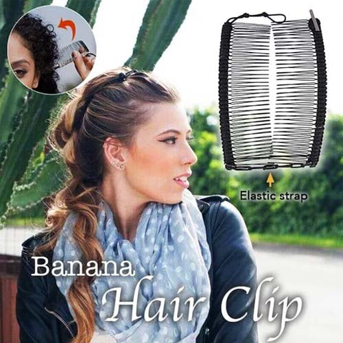 Banana Hair Clip (Buy 3 Free Shipping)