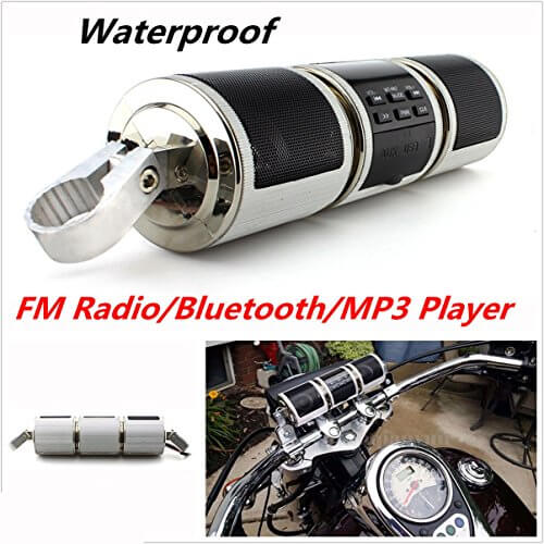 Bluetooth Wireless Motorcycle Speaker - Flash Sale 40% OFF