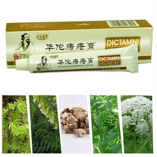 Chinese Herbal Hemorrhoids Treatment Cream