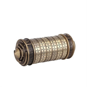 Da Vinci Code Metal Cryptex Alphabet Locks With Rings