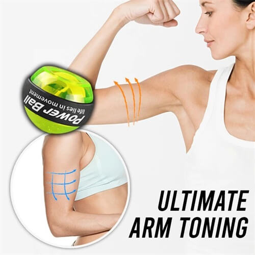 Flash Sale 40% OFF - LED Powerball Wrist & Arm Trainer