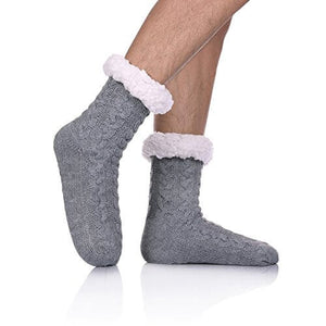 Mens Fleece-lined Socks