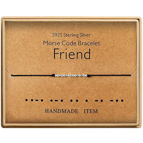 2020 Morse Code Alphanumeric Couple Bracelet - FRIEND