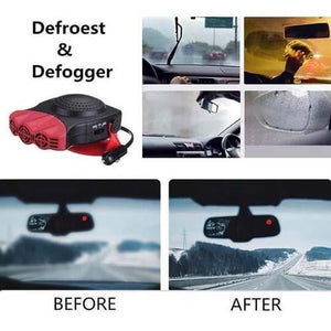 Portable Car Heater Defrosts Defogger