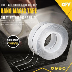 Reusable Double-Sided Nano Magic Tape