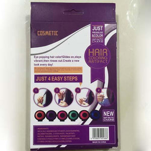 Reusable & Washable Fast Hair Dye Set
