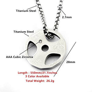 Titanium Strength Necklace