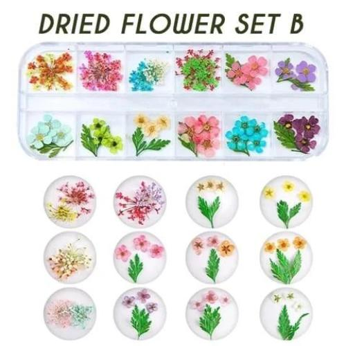 UV Resin Crystal Glue&Dried Flower Se&Resin Crystal Mold