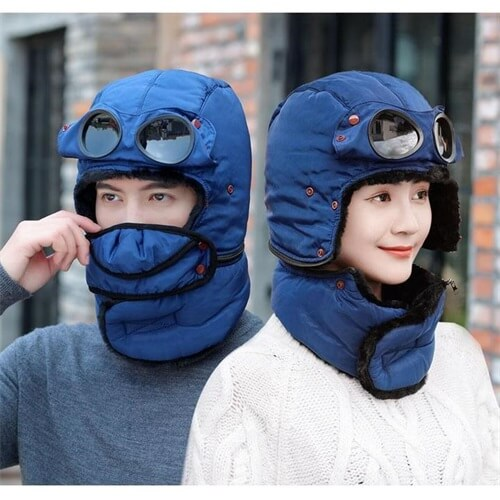 Unisex Winter Windproof Warm Ski Cap
