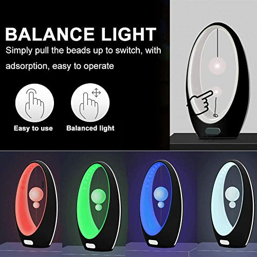 Sailing Bedside LED Lamp with Magnetic Suspension Switch