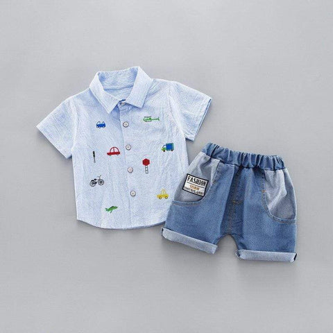 Baby Boy Summer set | Mindful Yard