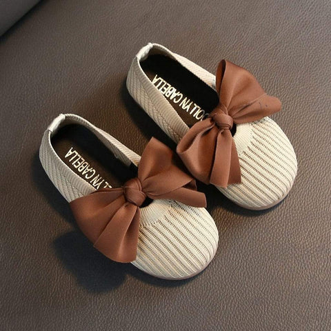 Bowknot baby girl shoes | Mindful Yard